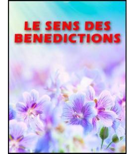 Le sens des benedictions (mp3)